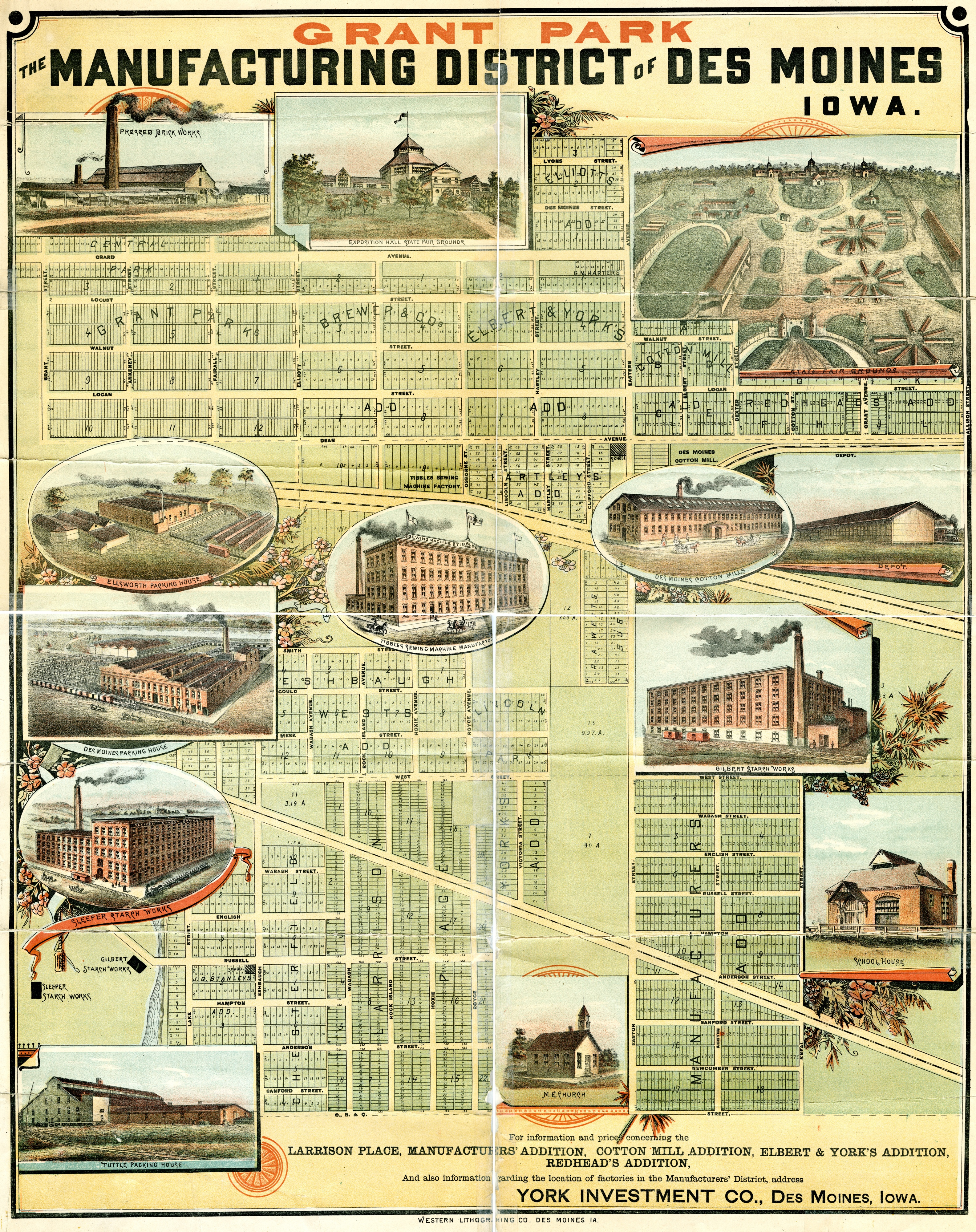 maps   Des Moines Local History