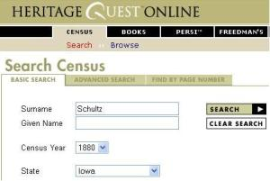 Census Search